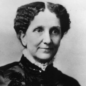Mary Baker Eddy, the discoverer and founder of Christian Science, in a portrait that hangs in the Beacon Haven [room].